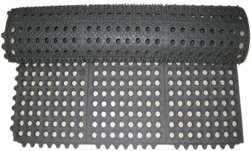 Interlocking Drainage Mat Aok Rubber Manufacturing