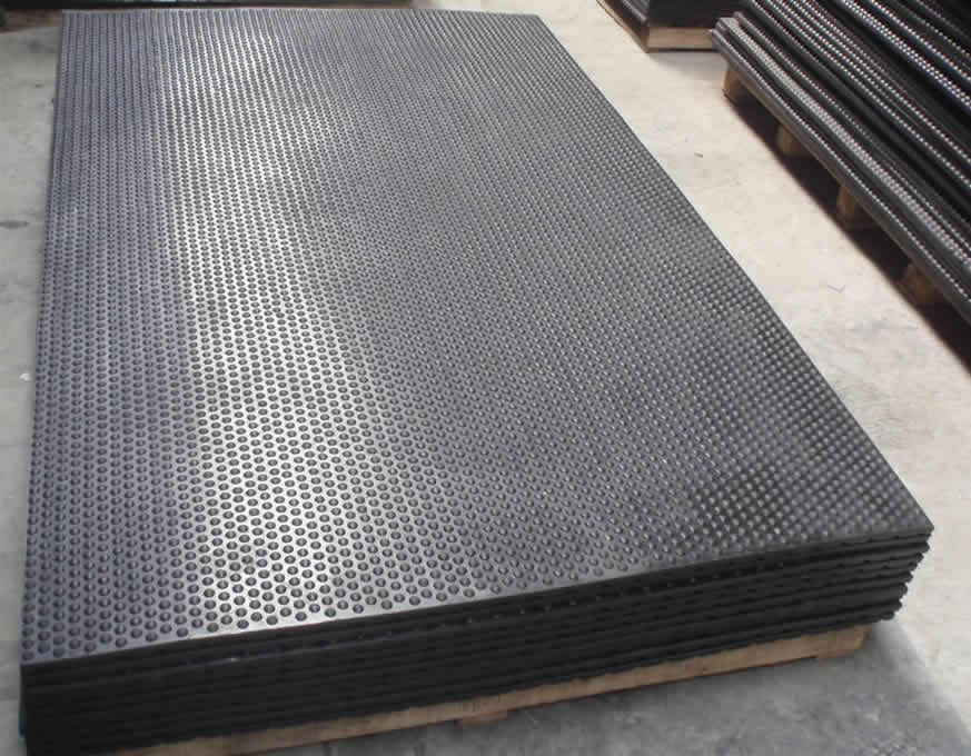 High Bubble Top Stable Mat Aok Rubber Manufacturing