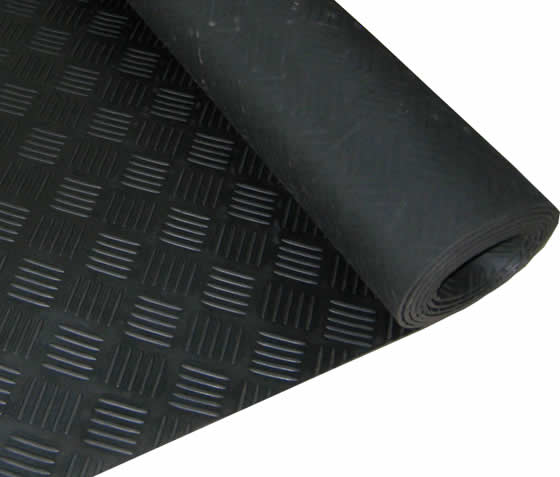 Checker Rubber Sheet Aok Rubber Manufacturing Limited Is