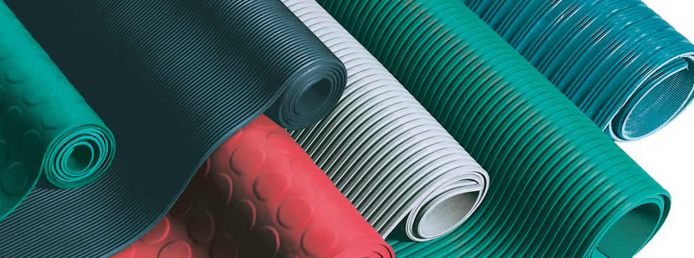 Fine Ribbed Rubber Sheet Aok Rubber Manufacturing