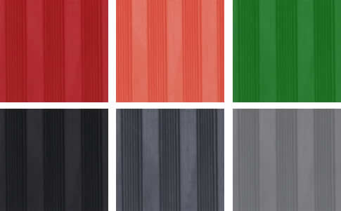 Fine Flat Ribbed Rubber Sheet Aok Rubber Manufacturing